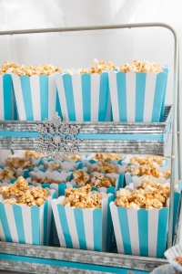 popcorn display galvanized stand