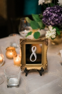 Gold table numbers mirrors mix:match $5 + $1 easels