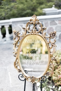 Welcome Mirror - kirstin and greg