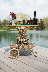 Luxe Bar Cart