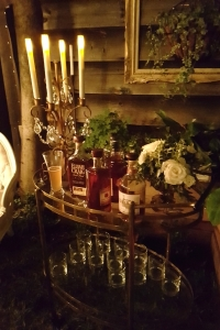 Bourbon Bar Cart