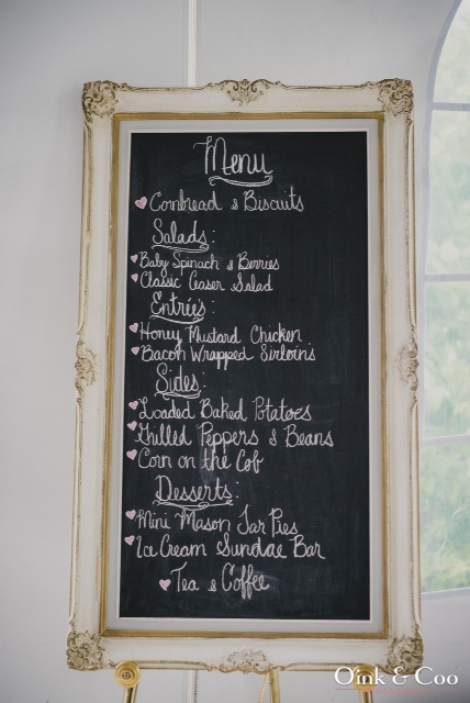 French chalk menu